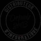 Distributeur de matériel informatique depuis 2003